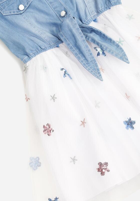 Biała Sukienka Olithenis