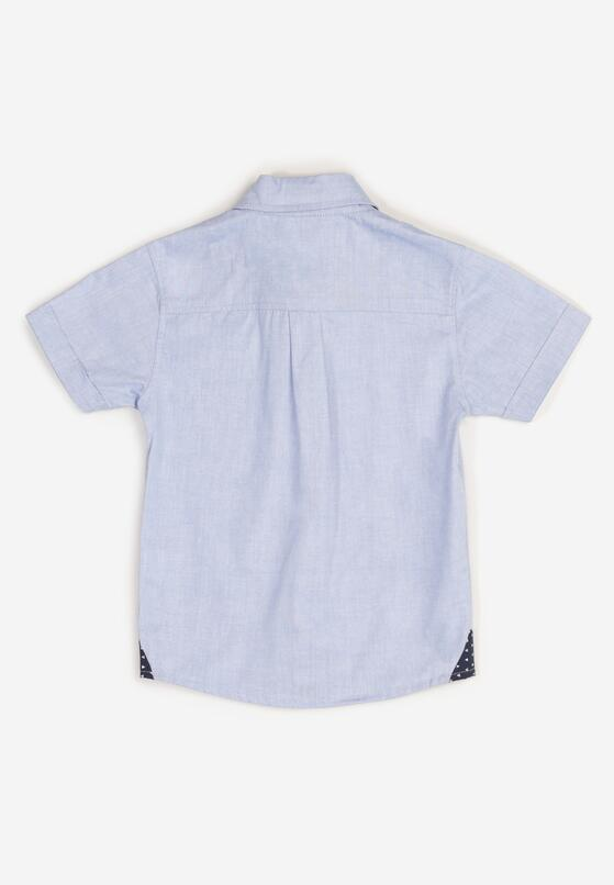 Jasnoniebieska Koszula Nyshosia