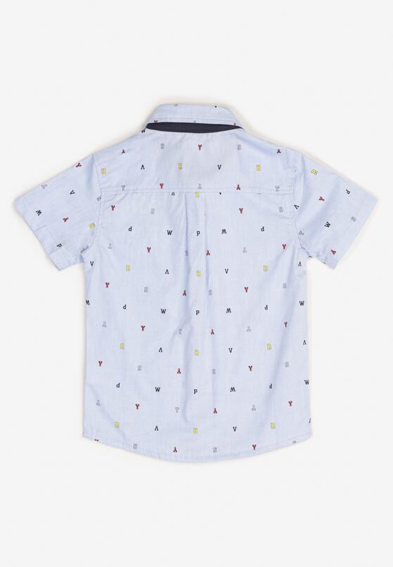 Jasnoniebieska Koszula Aelixia