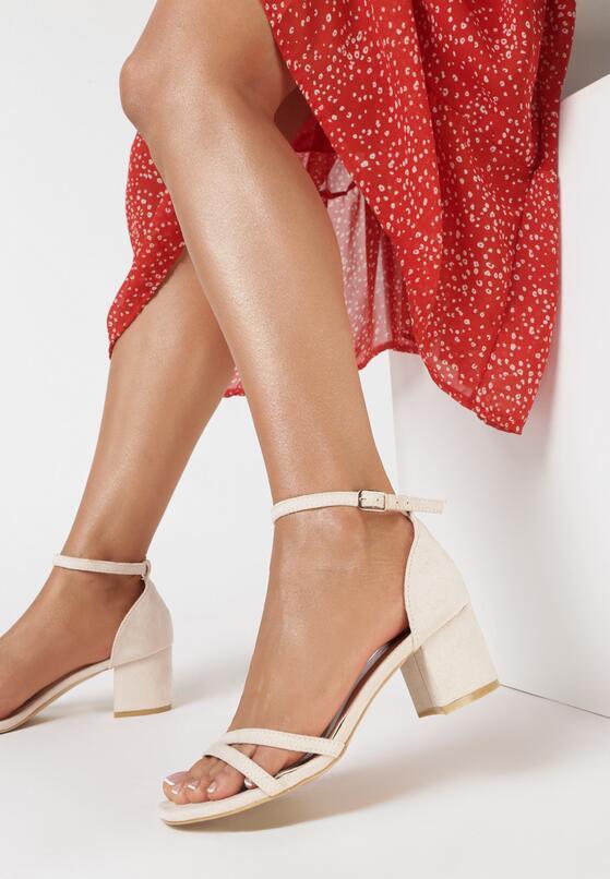 Beżowe Sandały Dorephine