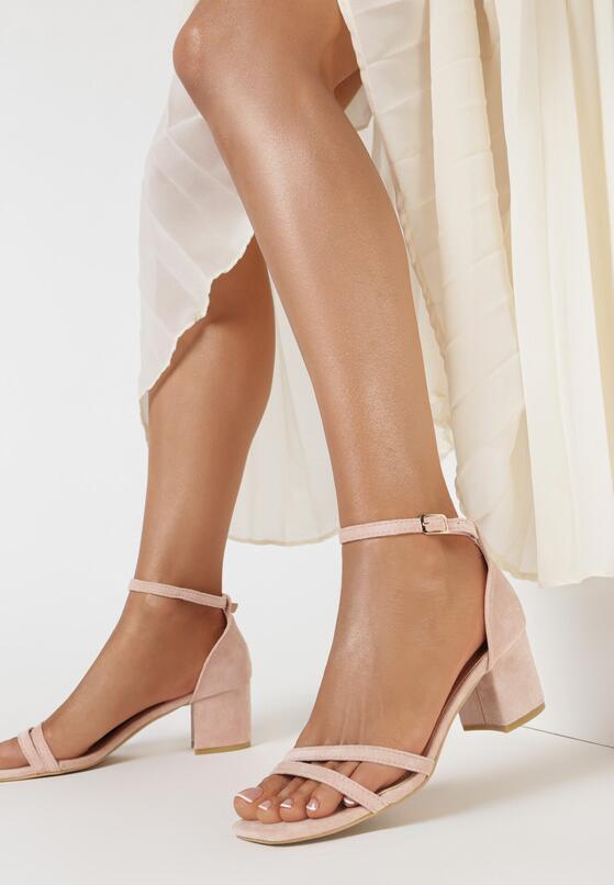 Różowe Sandały Dorephine
