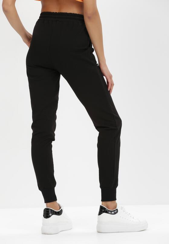 Czarne Spodnie Dresowe Myrithahria