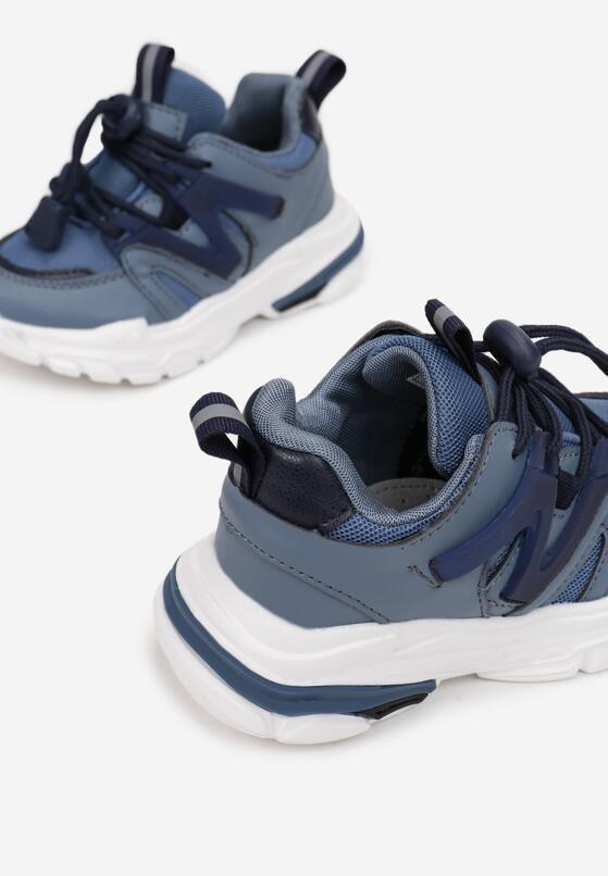 Niebieskie Buty Sportowe Paphohsa