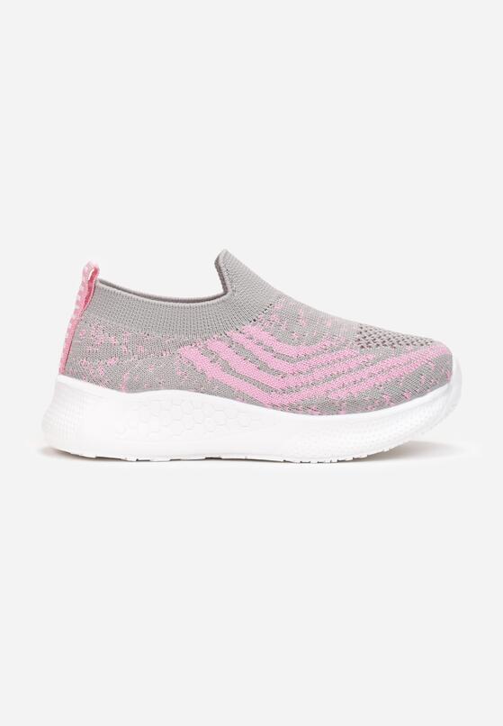 Szaro-Różowe Buty Sportowe Galixyphe