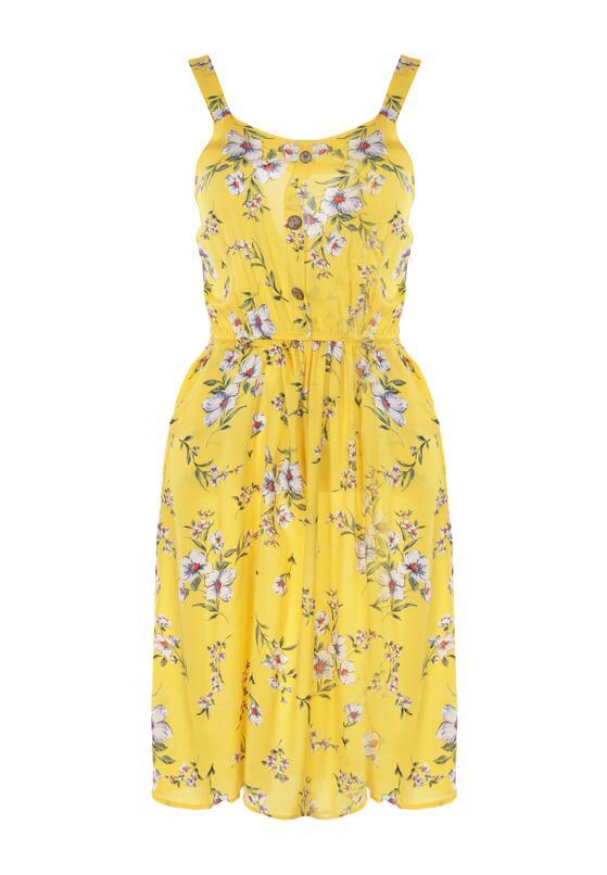 Żółta Sukienka Daphnusi