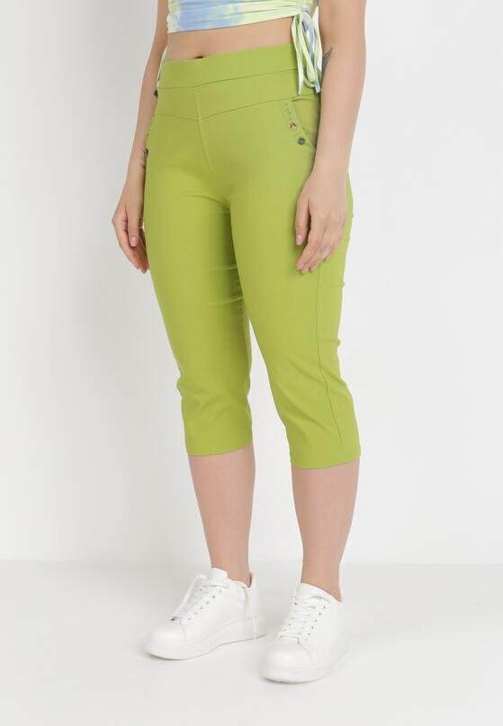 Jasnozielone Spodnie Sylphiasse
