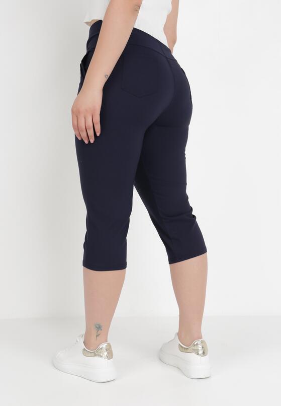Granatowe Spodnie Bontu