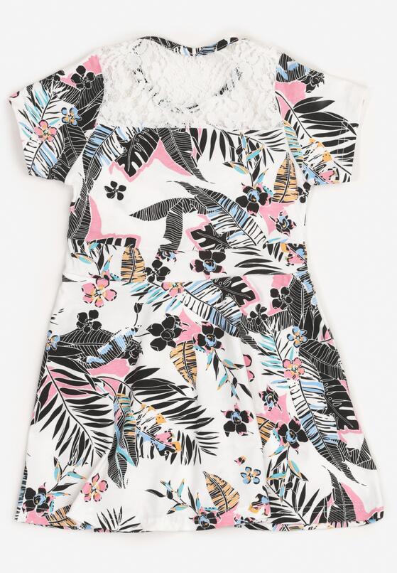 Biało-Czarna Sukienka Thalali