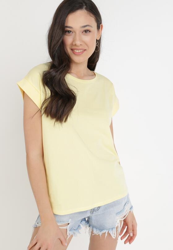 Żółty T-shirt Kisenia
