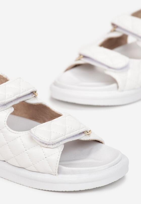 Białe Sandały Sagite