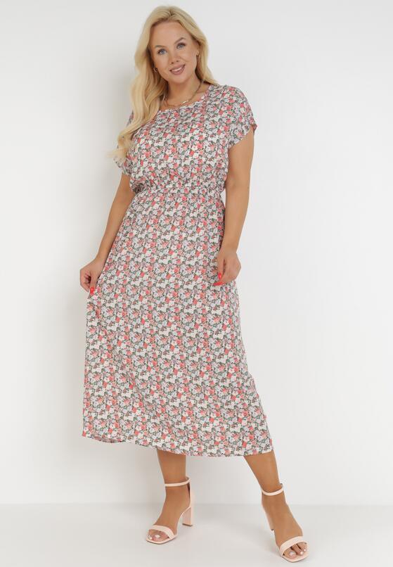 Jasnoróżowa Sukienka Taphophis