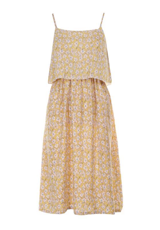 Żółta Sukienka Paphiphae