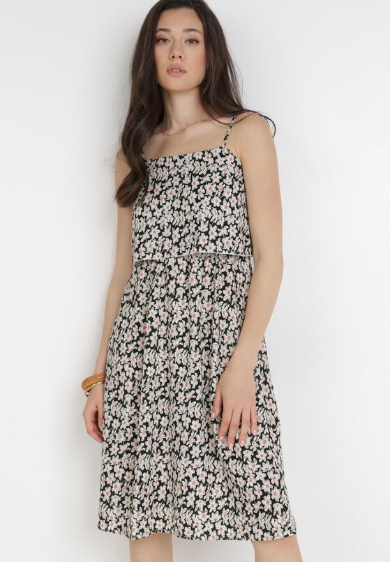 Czarna Sukienka Paphiphae