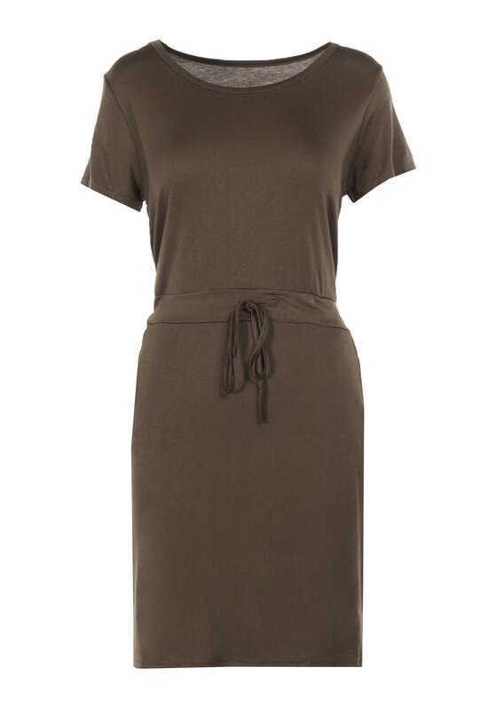 Ciemnozielona Sukienka Orpheleia