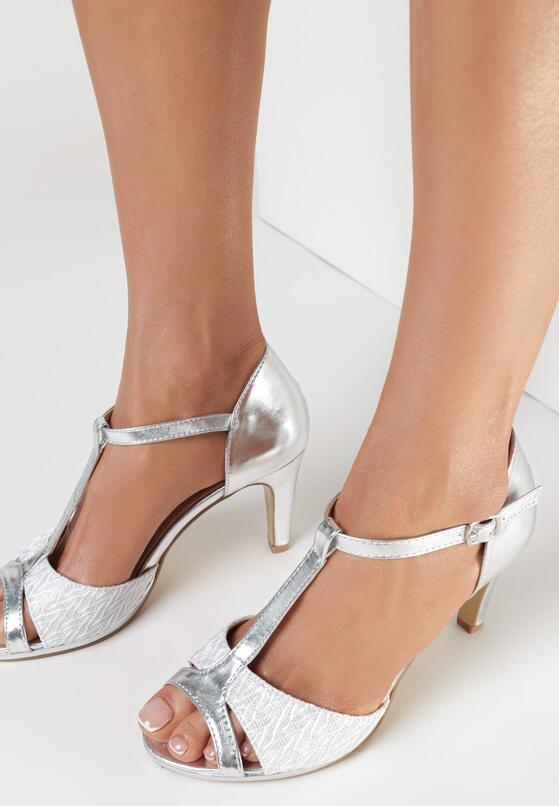 Srebrne Sandały Sagiphise