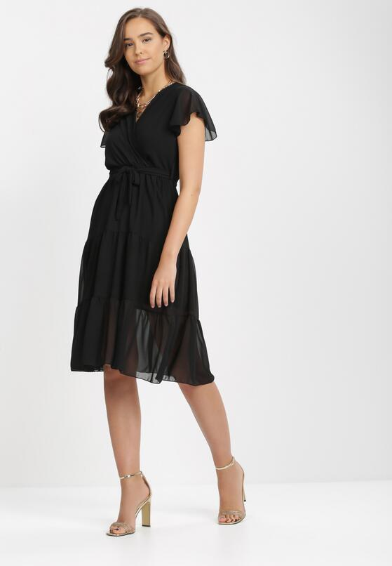 Czarna Sukienka Charnil