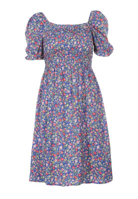 Niebieska Sukienka Qurylan