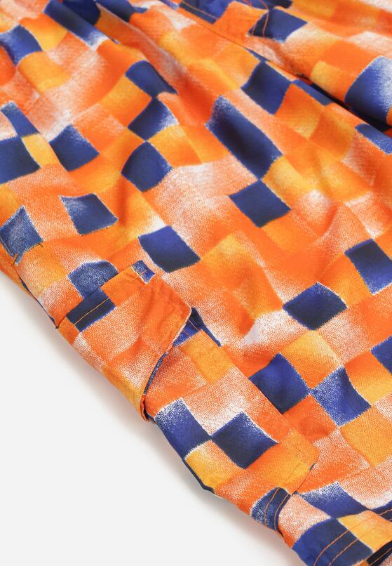 Pomarańczowe Szorty Adrasahria