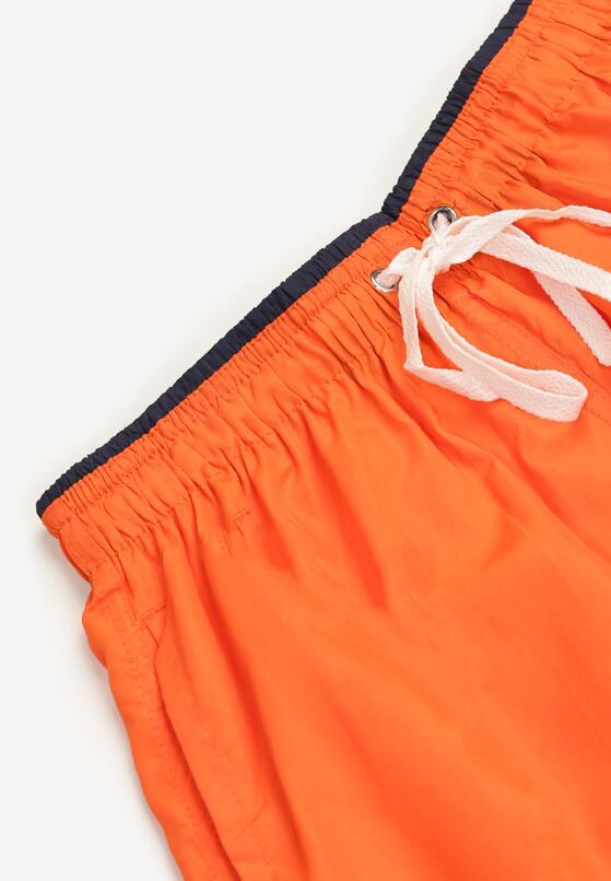 Pomarańczowe Szorty Kathorise