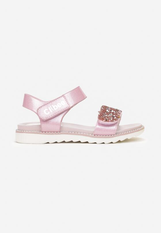 Różowe Sandały Brethusi