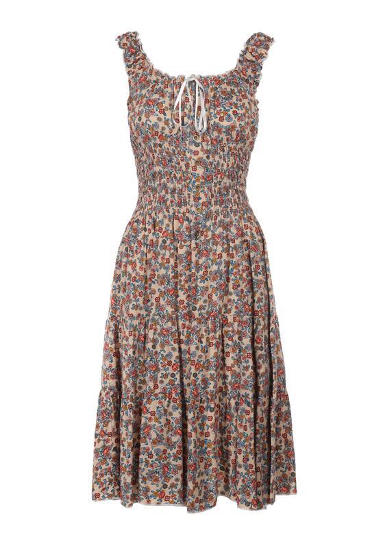 Jasnobeżowa Sukienka Spyriss