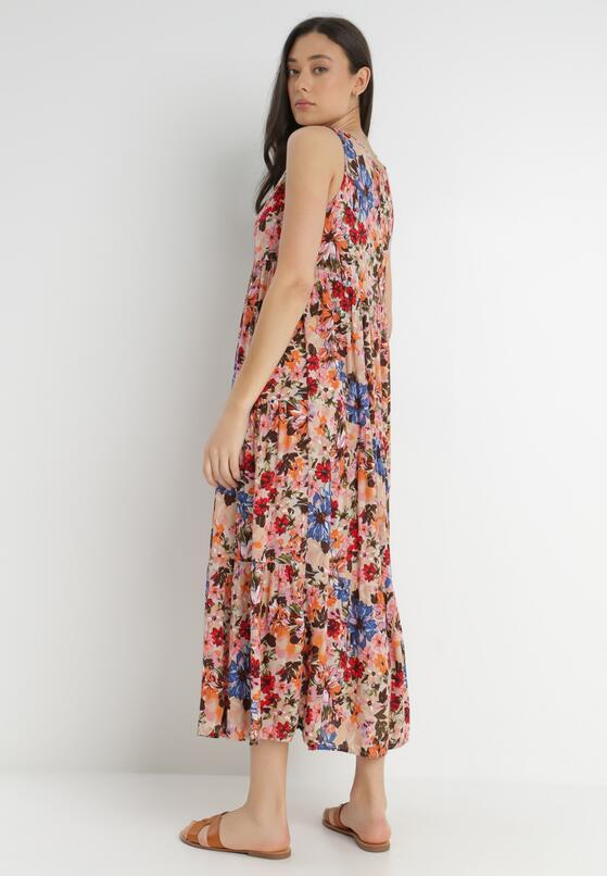 Jasnobeżowa Sukienka Themilato