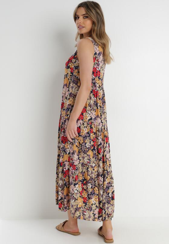 Granatowa Sukienka Themilato