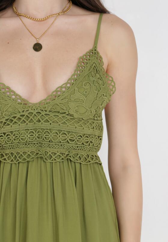 Zielona Sukienka Nadarinia