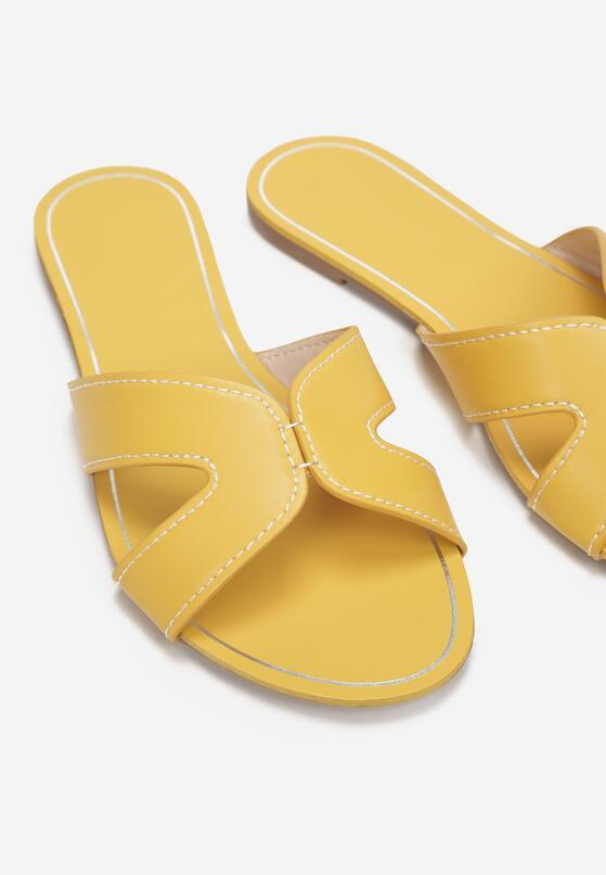 Żółte Klapki Vasilerus