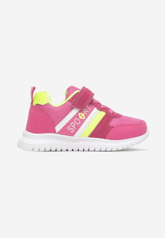 Różowe Buty Sportowe Anathelos