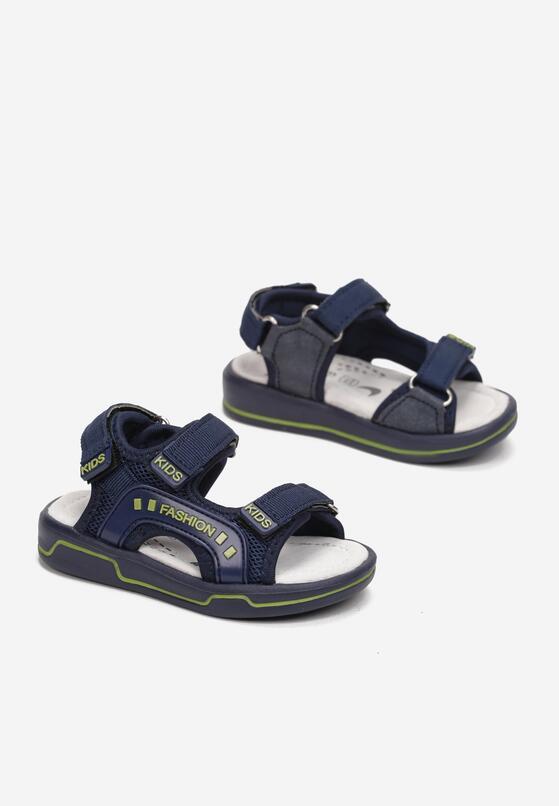 Niebiesko-Zielone Sandały Theve