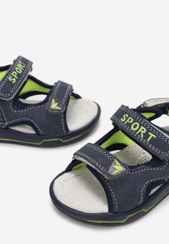 Granatowe Sandały Kosalus