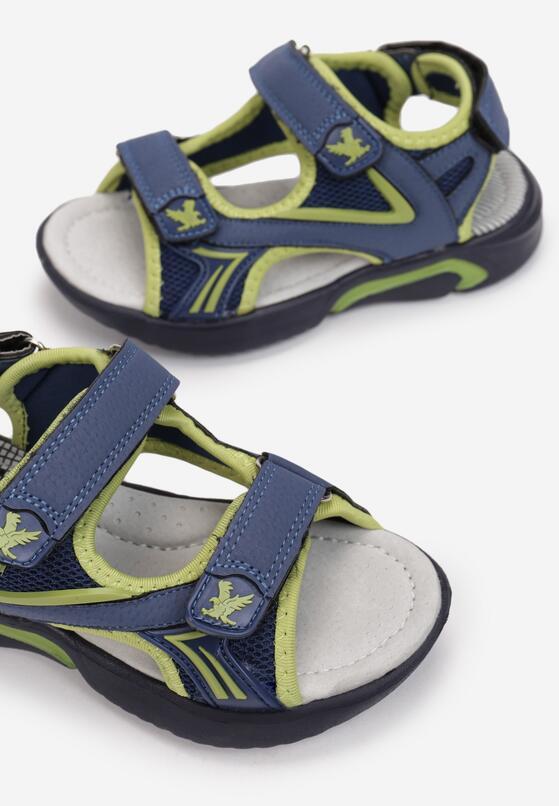Jasnoniebieskie Sandały Daeiteia