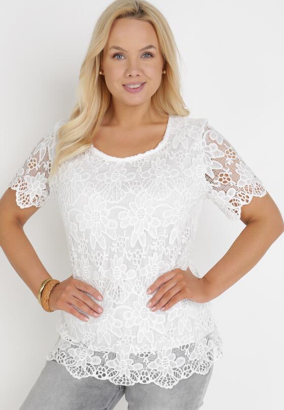 Biała Bluzka Vasis