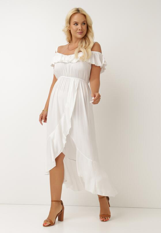 Biała Sukienka Phlegistos