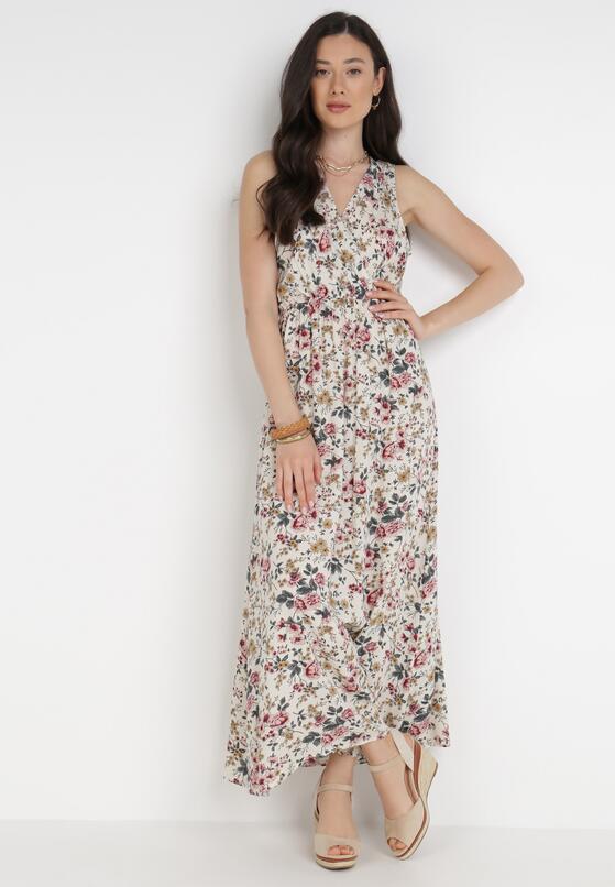 Kremowa Sukienka Bered