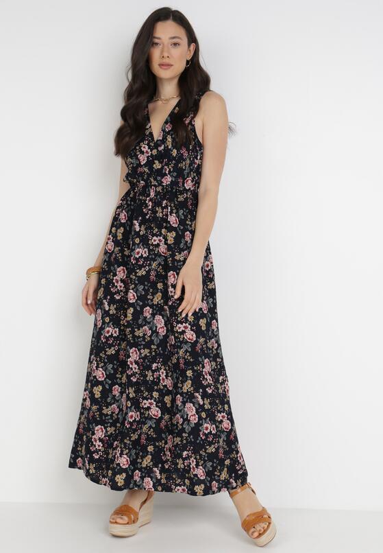 Granatowa Sukienka Bered