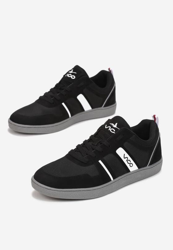 Czarne Buty Sportowe Chodre