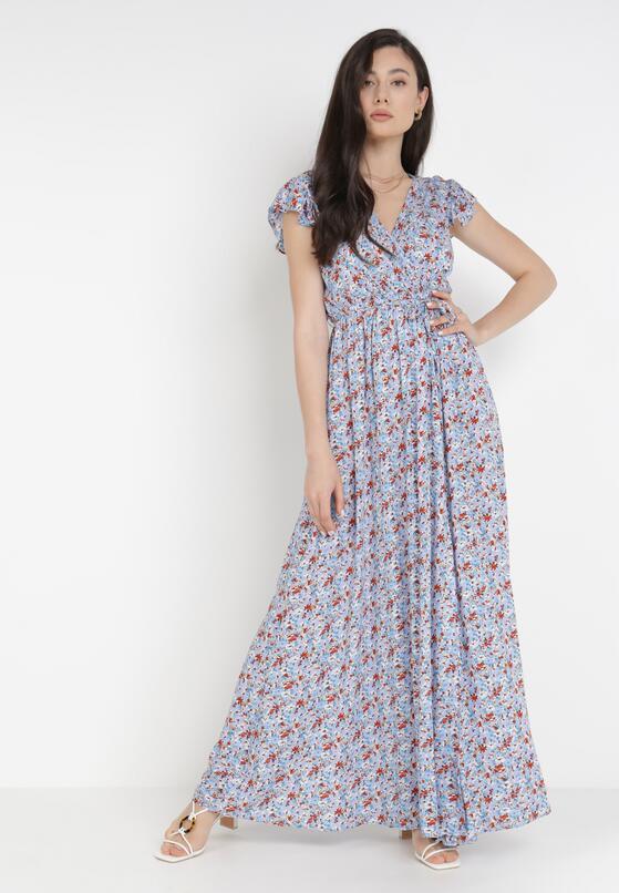 Jasnoniebieska Sukienka Parkea