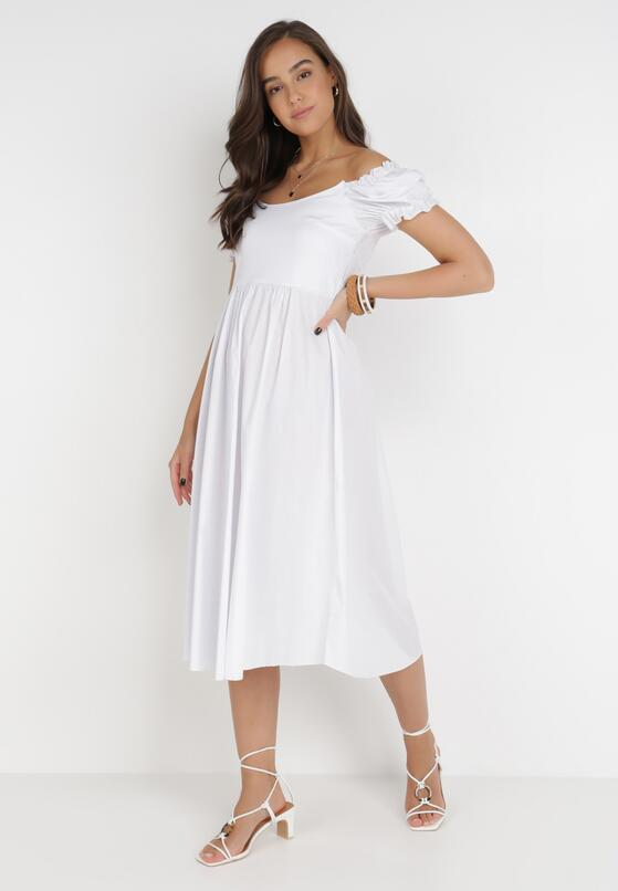 Biała Sukienka Maryrien