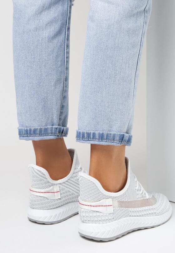 Białe Buty Sportowe Sheshell
