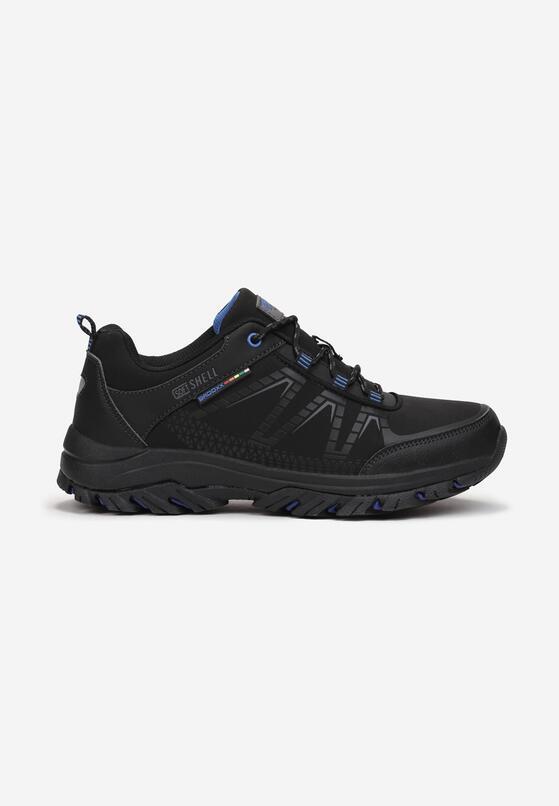 Czarno-Niebieskie Buty Sportowe Mathews