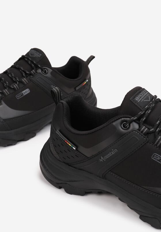 Czarno-Szare Buty Sportowe Ginorney