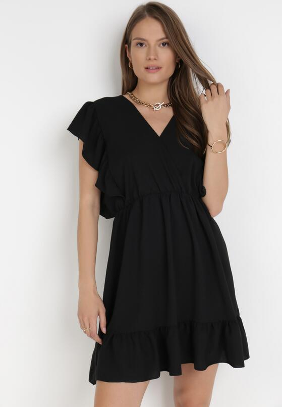 Czarna Sukienka Eshirsya