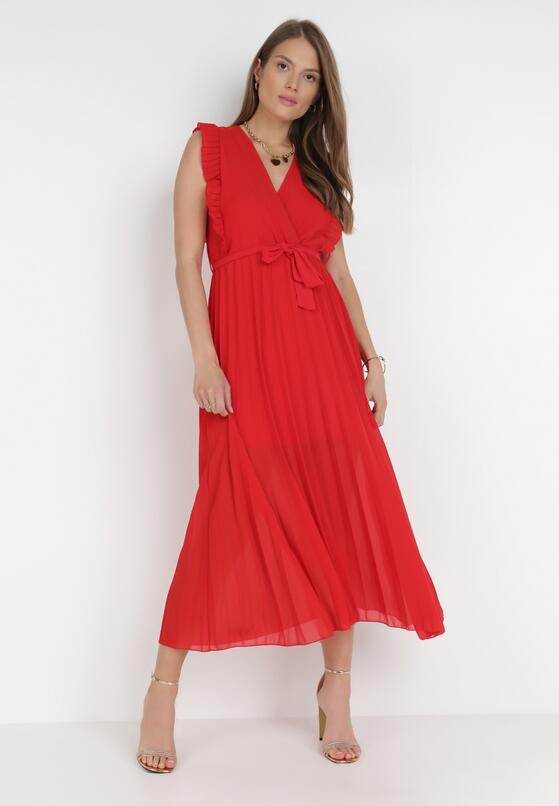 Czerwona Sukienka Tryxnessa