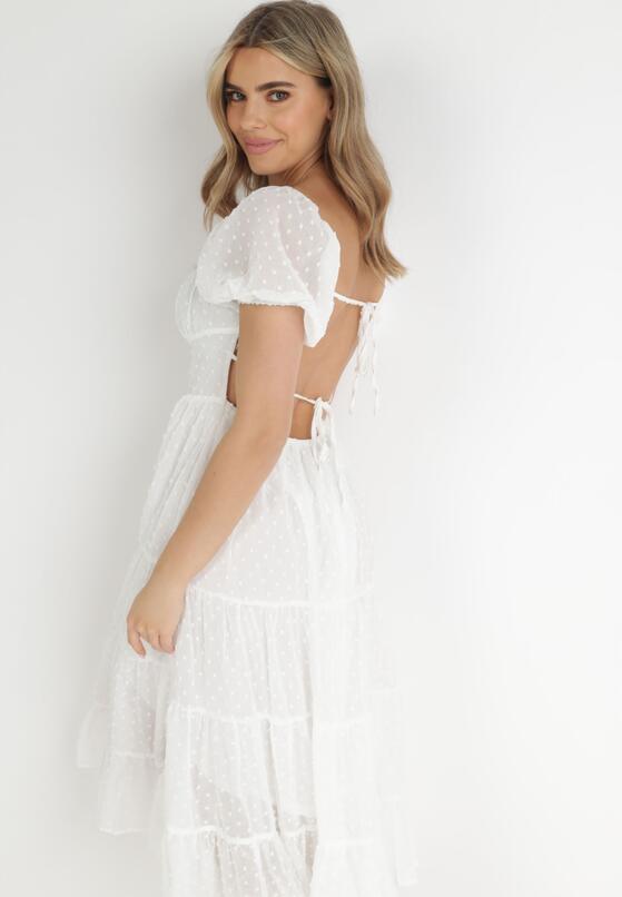 Biała Sukienka Ipharei