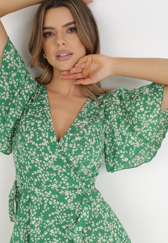 Zielona Sukienka Adrerial