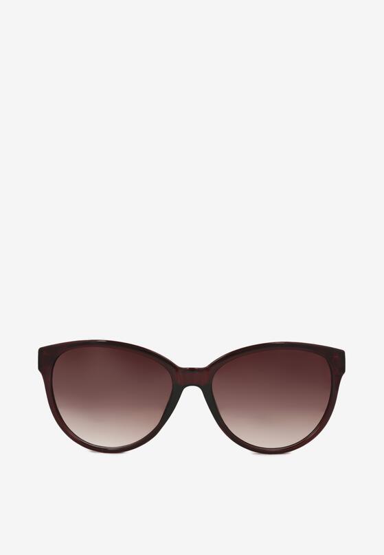 Brązowe Okulary Przeciwsłoneczne Lanan