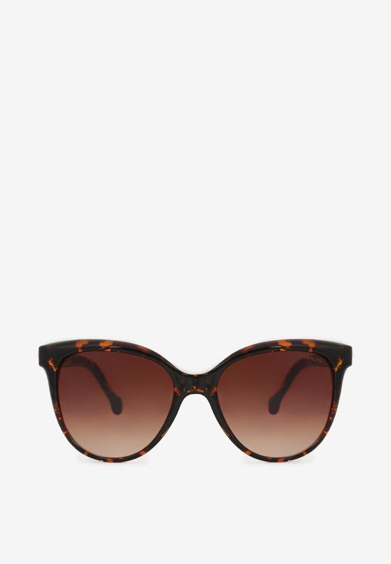 Brązowe Okulary Przeciwsłoneczne Maelenneg