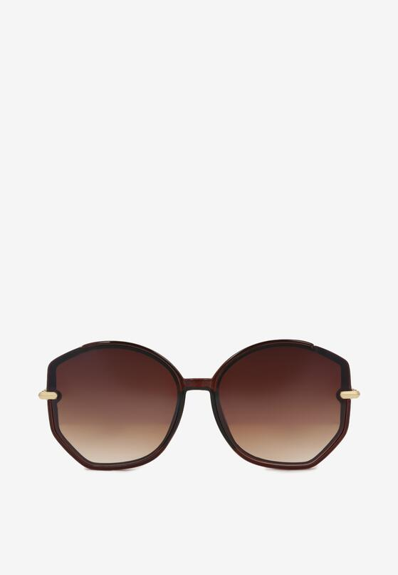 Brązowe Okulary Przeciwsłoneczne Izerig